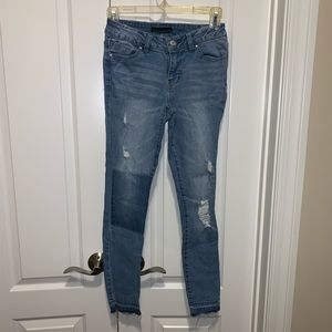 *Worn once* Patchwork Jeans from Nordstrom Rack